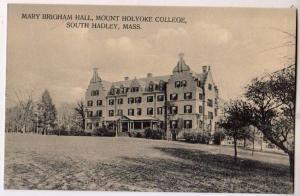 Mary Brigham Hall, Mt Yoke College, South Hadley Mass