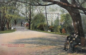 MINNEAPOLIS, Minnesota, 1900-1910's; The Ramble, Loring Park