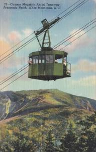 New Hampshire White Mountains Franconia Notch Cannon Mountain Aerial Tramway ...