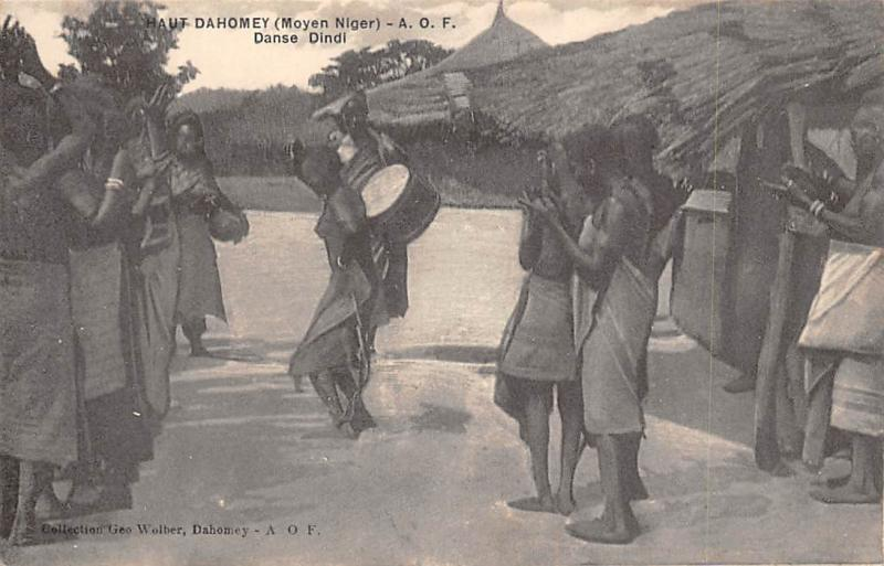 Haut Dahomey Benin Moyen Niger Danse Dindi Dance Music, natives
