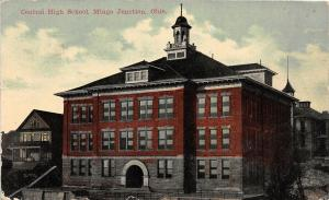 F21/ Mingo Junction Ohio Postcard c1910 Jefferson County Central High School 1