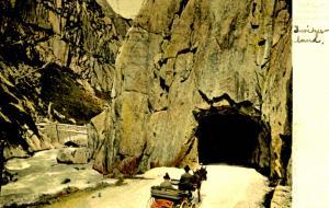 Switzerland - Das Urnerloch, Gotthard Pass Road Tunnel