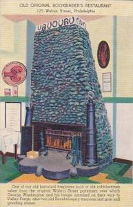Pennsylvania Philadelphia Old Original Bookbinders Restaurant 1951