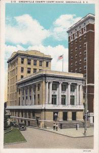 Court House , GREENVILLE , South Carolina , 1910s