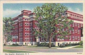 New York Binghampton City Hospital Curteich