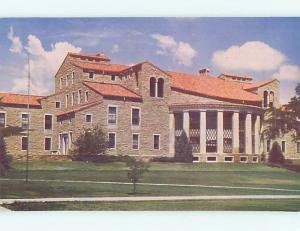 Unused Pre-1980 LIBRARY AT UNIVERSITY OF COLORADO Boulder Colorado CO L6494