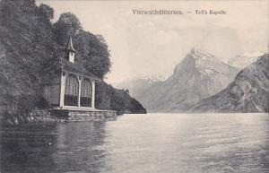 Switzerland Vierwaldstaettersee Tell's Kapelle