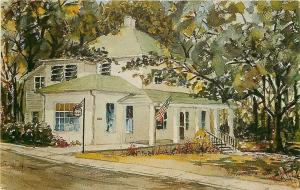 Hendersonville North Carolina~Opportunity House~Fleming Street~1968 Artist PC
