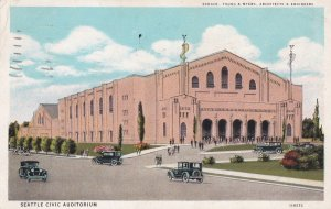 Seattle Civic Auditorium , SEATTLE , Washington ; PU-1930