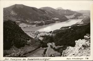 Der Fuschlsee im SalzKammergut photo Gastberger