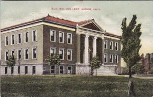 Ohio Akron Buchtel College 1908