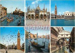 Modern Postcard Venice Bridge of Sighs