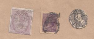 Queen Victoria 1860 Norfolk 3x Unidentified Stamp s