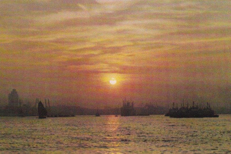 CHINA, 1950-1970s; Dawning Over The Huangpu River