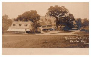 Massachusetts  Hamilton ,  Myopia Hunt Club ,RPC