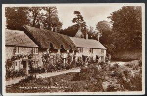 Isle of Wight Postcard - Winkle Street, Calbourne    RS11064