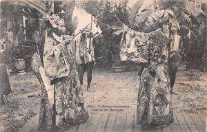 Theatre annamite Scene du Marriage Vietnam, Viet Nam 1906