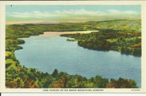 Lake Fairlee In The Green Mountains, Vermont