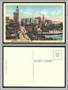 Maryland, Baltimore - Light Street & Wharves - [MD-058]