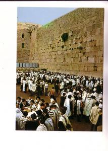 Many Men, Solemn Days' Praying at the Wailing Wall, Palphot 8703