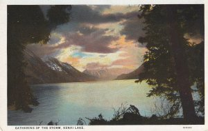 KENAI LAKE, Alaska, 1900-1910's; Gathering Of The Storm