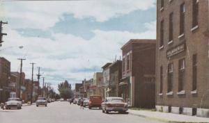 Rue St Antoine, La Tuque , Quebec, Canada , PU-1970