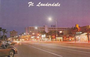 Los Olas and Atlantic Boulevard, The Action Spot, Fort Lauderdale, Florida,...