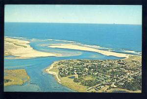 Nauset, Massachusetts/Mass/MA Postcard, Aerial Of Nauset Inlet, Cape Cod