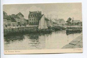 423473 BENOIS Concarneau Brittany France old ART NOUVEAU RUS