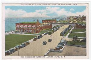 Panorama Pavilion Ocean Asbury Park New Jersey 1929 postcard