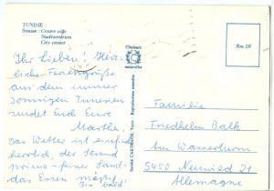 Tunisia, Tunisie, Sousse, City Center, used Postcard