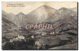 Postcard Old Village of La Salette Monts Gargas and Planeau