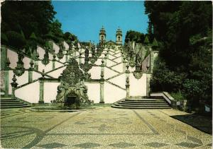 CPM Braga-Bom Jesus, Gran Escalier des cinq sens PORTUGAL (750607)