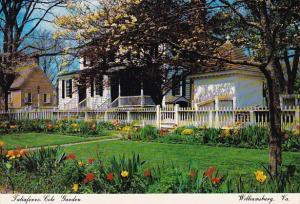 Taliaferro Cole Garden Williamsburg Virginia