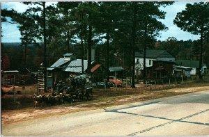 Chrome BUILDINGS Jeffersonville - Near Danville & Dry Branch & Macon GA AH7205