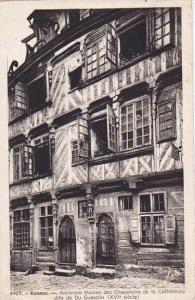 France Rennes Ancienne Maison des Chapelains de la Cathedrale dite de Du Gues...