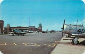 Flight Tower Landing Apron US Naval Air Station Postcard Pensacola Florida 3452