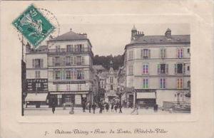 France Chateau Thierry Poue du Lontz Hotel de Ville 1910