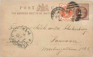 Entier Postal Stationery 1 / 2p + 1 1 / 2p for Hannover
