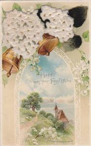 Ringing Bells, Partial Scene, Happy May Your Easter Be, 1900-1910s