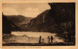 CPA Environs de Evian les Bains Le Lac de Montriond (336781)