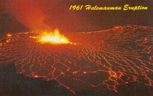 Halemaumau Eruption, Hawaii, 1961