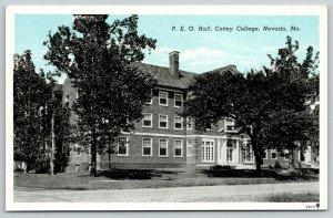 Nevada MO Sisterhood Philanthropic Educational Organization~Cottey College 1922