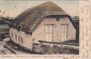 Horningsham ,Wiltshire, England , 1904 ; Oldest Free Congregational Church io...