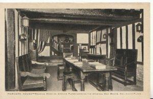 Warwickshire Postcard - Harvard House - Reading Room on Ground Floor  Ref TZ7904