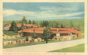 Hospital and Play House of Dionne Quintuplets - Callander, Ontario, Canada