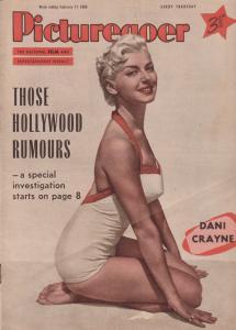 Picturegoer Dani Crayne Gordon Scott Tarzan Movie 1956 Magazine