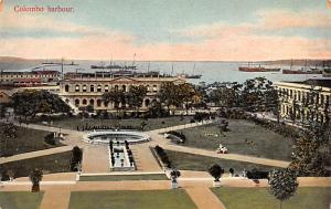 Ceylon, Ceylan Colombo Harbour  Colombo Harbour