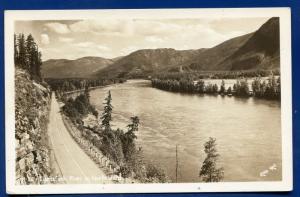 Clarksfork River Idaho id real photo postcard RPPC