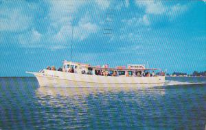 Rainbow Deep Sea Fishing Boat Clearwater Beach Florida 1957